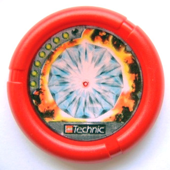 Red Throwbot Disk Torch / Fire  7 pips