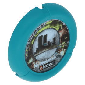 Dark Turquoise Throwbot Disk Turbo / City 2 pips