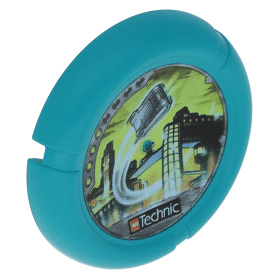 Dark Turquoise Throwbot Disk Turbo / City 4 pips