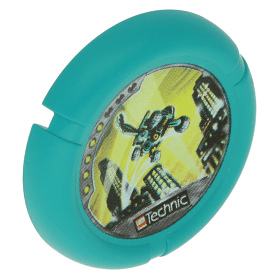 Dark Turquoise Throwbot Disk Turbo / City 5 pips