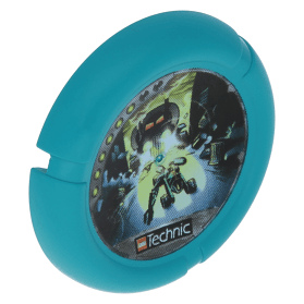 Dark Turquoise Throwbot Disk Turbo / City 6 pips