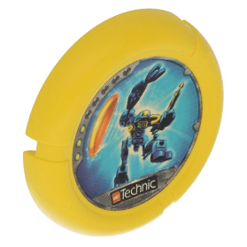 Yellow Throwbot Disk Scuba / Sub 3 pips