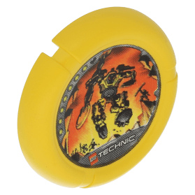 Yellow Throwbot Disk Blaster 7 pips