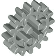 Light Gray Technic Gear 16 Tooth with Round Holes [Old Style]