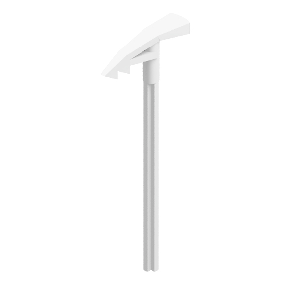 White Bionicle Weapon Long Axle Ice Pick
