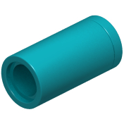 Dark Turquoise Technic Pin Connector Round [No Slot]